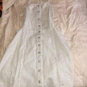 Forever 21 Halter Backless Mini Dress